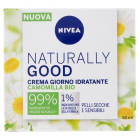 NIVEA FACE CARE NATURALLY GOOD CR.IDRAT.SENS. 50ML
