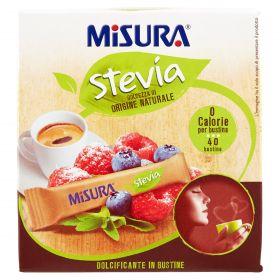 DOLCIF.MISURA STEVIA BS  X 40 GR60