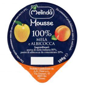 MOUSSE FRUTTA MELINDA MELA/ALBICOCCA GR100