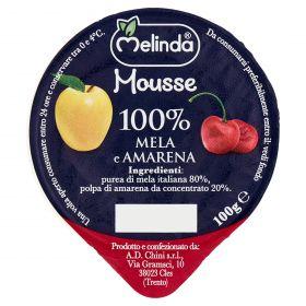 MOUSSE FRUTTA MELINDA MELA/AMARENA GR100