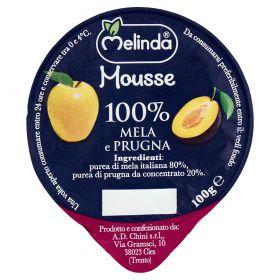 MOUSSE FRUTTA MELINDA MELA/PRUGNA GR100