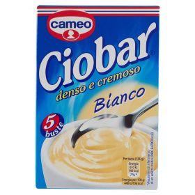 CIOBAR CAMEO 5 BUSTE BIANCO