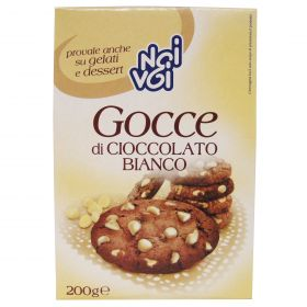 NOI&VOI GOCCE DI CIOCC.BIANCO GR200