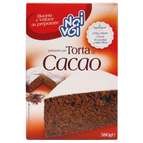 NOI&VOI PREP.X TORTA AL CACAO GR380