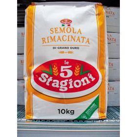 SEMOLA GRANO DURO KG10   RIMACINATO 5 STAG.