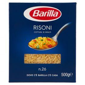PASTA S.BARILLA RISONI N.26 GR.500
