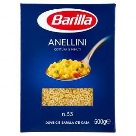 PASTA S.BARILLA ANELLINI N.33 GR.500