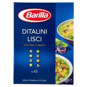 PASTA S.BARILLA DITALINI LISCI N.43 GR.500
