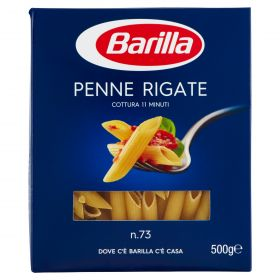 PASTA S.BARILLA PENNE RIGATE N.73 GR.500