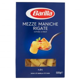 PASTA S.BARILLA MEZZE MANICHE RIGATE N.84 GR.500