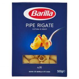 PASTA S.BARILLA PIPE RIGATE N.91 GR.500