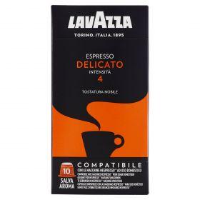 CAPSULA CAFFE'LAVAZZA COMP.NESPRESSO DELICATO X 10