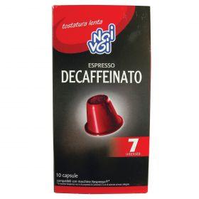 NOI&VOI CAPSULE CAFFE'DECAFF. GR.50 (10CAPS X 5GR)