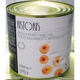 CIPOLLE BORETTANE CON ACETO BALS. RISTORIS KG.2,50
