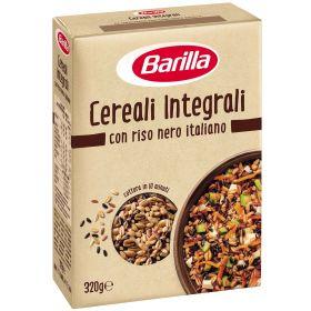 CEREALI INTEGRALI E RISO  NERO BARILLA GR.320