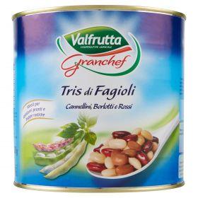 VALFRUTTA TRIS FAGIOLI KG2,6