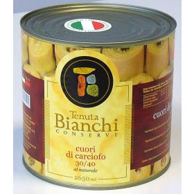 CARCIOFI CUORI 30/40 NAT.TEN.BIANCHI ML2650 100%IT