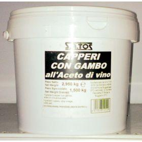CAPPERI C/GAMBO AC.KG1,5 SGOCC.SATOS
