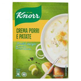 KNORR CREMA CON PORRI E PATATE GR.90