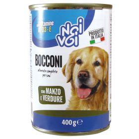 NOI&VOI BOCCONI CANE MANZO/VERD.GR400
