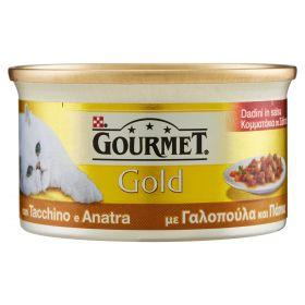 FRISKIES GOURM.GOLD GR.85DADINI TACCHINO