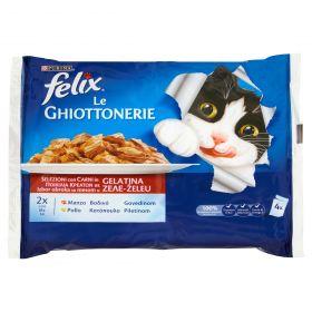 FELIX LE GHIOTTONERIE MANZO&POLLO GR100X4