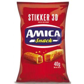 STIKKER KETCHUP 3D AMICA CHIPS GR.40