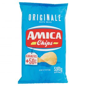 PATATINA ORIGINALE AMICA  CHIPS GR.550