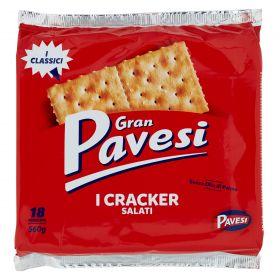 CRACKERS GRAN PAV.SALATI GR560