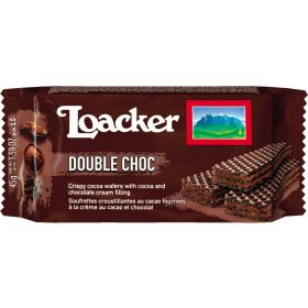 WAFERS LOAKER ESPOS.DOUBLE CHOC GR45