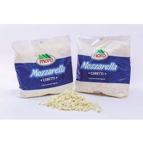 MOZZARELLA MORO CUBETTI BUSTA KG.2
