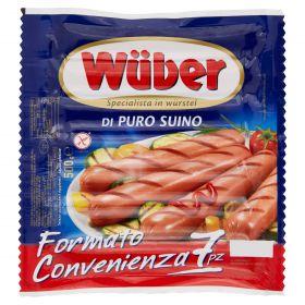 WURSTEL WUBER 7PZ GR.500