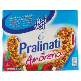 NOI&VOI GEL.PRALINATI AMARENA X6 GR360