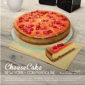TORTA N.Y.CHEESE CAKE FRAGOLINE 14FT GR1500