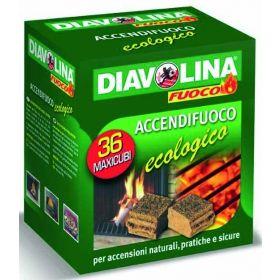 DIAVOLINA MAXI CUBI ECOLOGICI X36 PZ