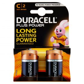 PILE DURACELL 1/2TORCIA PLUS MN1400