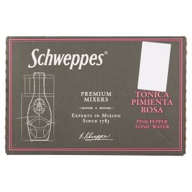 SCHWEPPES CL20 TONICA HERITAGE PEPE ROSA