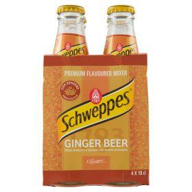 SCHWEPPES CL18X4 GINGER  BEER BOTT.