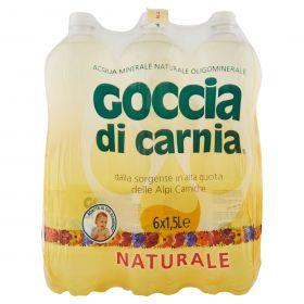 ACQUA GOCCIA NATURALE LT.1,5 PET