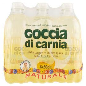 ACQUA GOCCIA NATURALE LT.0,5 PET