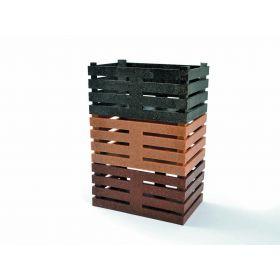 CESTINO SIMPLY BOX 11X7X5,5 MARRONE